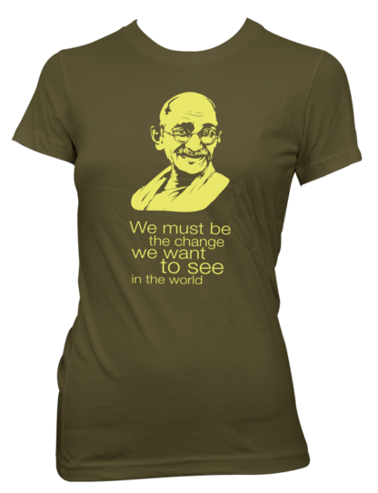 Gandhi – Be the change